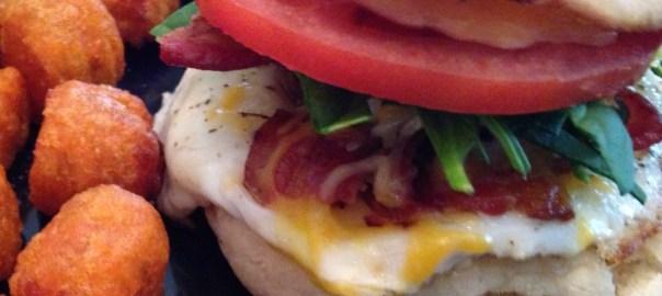 Brunch egg sandwich