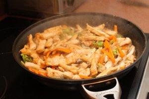 pork stir fry thicken