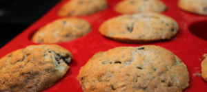 Banana Chocolate-Chip Muffins- Let cool and try not to eat them all them all
