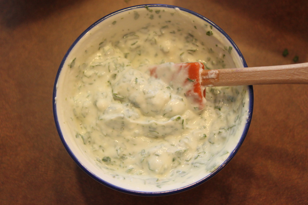 Cilantro cream
